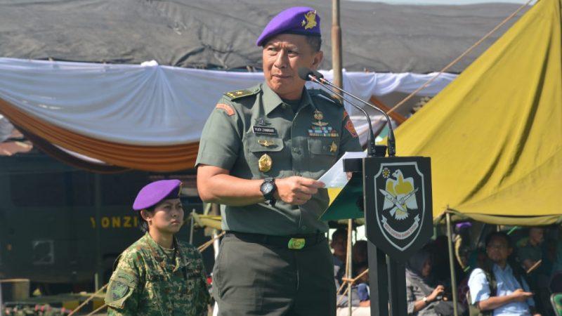 Menwa Gelombang I Tahun 2020  ditutup Brigjen TNI Yudi Zanibar