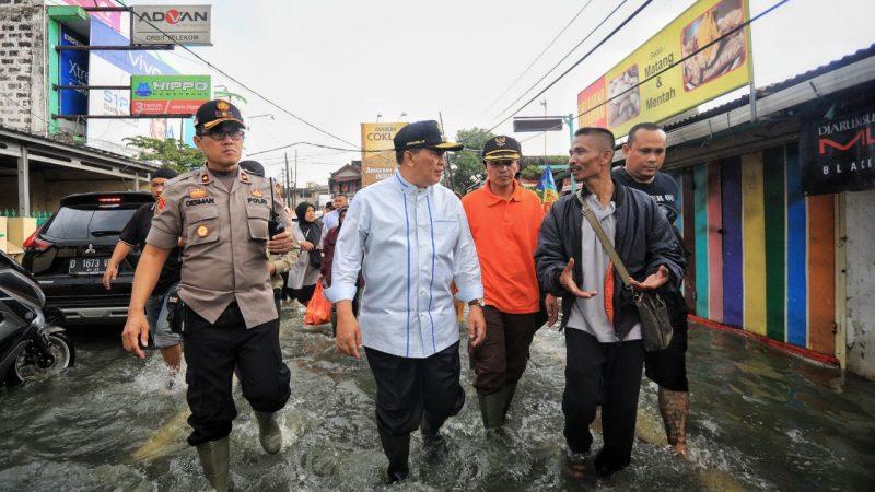 Kelurahan Rancabolang terkena musibah banjir di luar kebiasaan, simak apa kata Oded