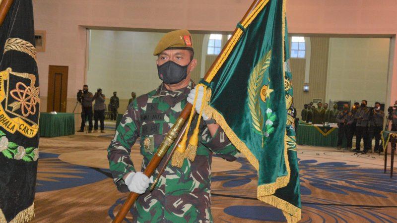 Danpussenarmed kembali dijabat Brigjen TNI Dwi Jati Utomo