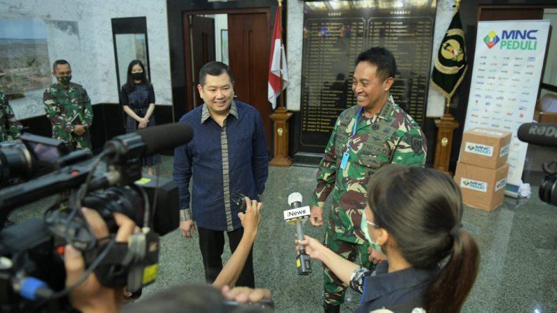Tenaga Medis TNI AD Peroleh bantuan MNC