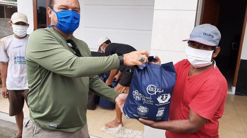 Dansektor 21 distribusikan bantuan CSR pada warga terdampak Covid19