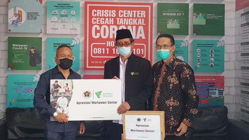 PWI Pusat dan Dompet Dhuafa bantu masyarakat pers
