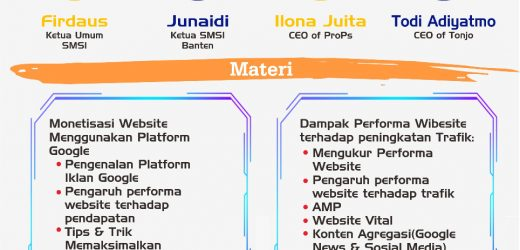 SMSI gelar Virtual Workshop bertajuk WordPress Website