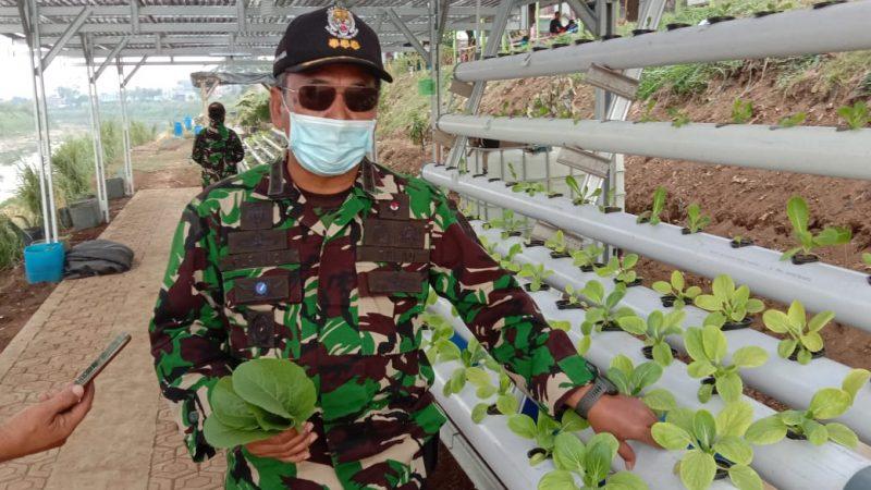 Satgas Citarum Sektor 7 fokus Program ketahanan pangan