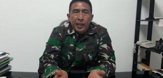 Viral Tank TNI Tabrak Gerobak dan motor, ini penjelasan Kapendam III/Slw