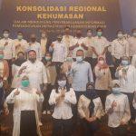 Konsolidasi Regional Kehumasan Kementrian PUPR gandeng PWI